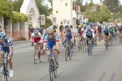 Cyclistes d'amateur d'hommes Images libres de droits