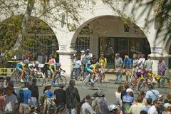 Cyclistes d'amateur d'hommes Image libre de droits