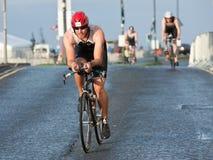 Cyclistes, triathlon Images stock