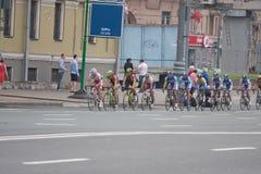 Cyclists Stock Photo