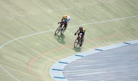 cyclists Imagen de archivo