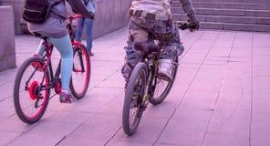 cyclists Fotografia Stock Libera da Diritti