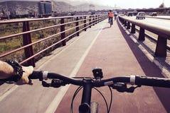cyclists Imagem de Stock
