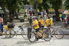 cyclists Fotografia de Stock
