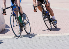 Cyclists Royalty Free Stock Photography