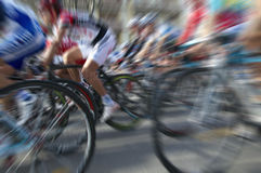 Cyclists Royalty Free Stock Photo