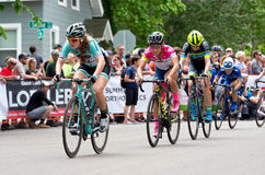 Cyclists Chase Leaders at Stillwater Stock Photography