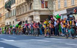 Cyclists, Giro d'Italia Stock Photo