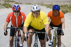 Cyclists On A Race Royalty Free Stock Photography