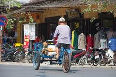 Cyclo водители в Вьетнаме Стоковая Фотография RF