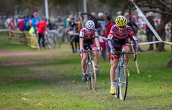Cyclo-cross Royalty Free Stock Images