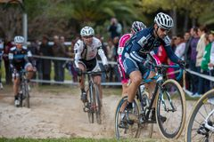 Cyclo-cross Royalty Free Stock Photography