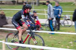 Cyclo-cross Royalty Free Stock Image