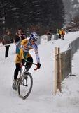 CYCLO-CROSS CZECH REBUBLIC CHAMPIONSHIP 2010. Cyclo-Cross Championship in The Czech Republic 2010, 9. january 2010 Tabor royalty free stock photos