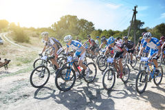 Cyclo-cross; Royalty Free Stock Photos