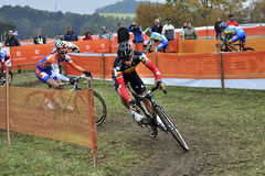 Cyclo Cross UCI Czech Republic 2012 Royalty Free Stock Photos