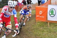 Cyclo Cross UCI Czech Republic 2012. TABOR, CZECH REPUBLIC - OCTOBER 21, Cyclo Cross, UCI WORLD CUP Men ELITE on October 21, 2012 in Tabor, Czech Republic Stock Image