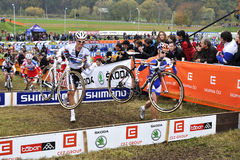 Cyclo Cross UCI Czech Republic 2012 Stock Photo