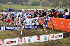 Cyclo Cross UCI Czech Republic 2012 Stock Photo