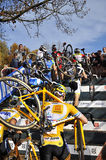 Cyclo Cross UCI Czech Republic 2013 Royalty Free Stock Photo
