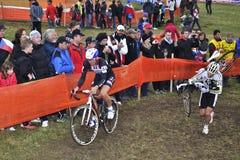 Cyclo DwarsUCI Tsjechische Republiek 2012 Stock Foto's