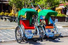 Cyclo en Hoi An Image libre de droits