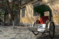 cyclo främre hoi gammala vietnam Fotografering för Bildbyråer