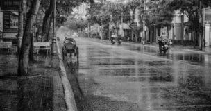 Cyclo i Vietnam Arkivfoton