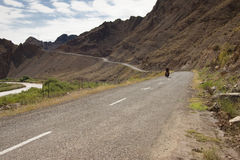cyclo iran turism Royaltyfri Bild