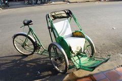 Cyclo, Phnom Penh Stock Photography