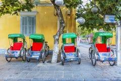 Cyclo serve tourists Stock Photos