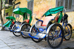 Cyclo in vietnam Stock Images