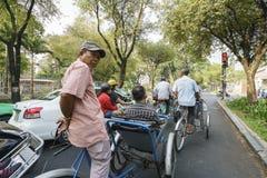 Cyclo in Vietnam Stock Images