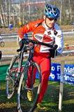 cyclocross种族 库存图片