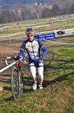 cyclocross种族 免版税库存图片