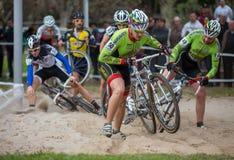 Cyclocross Stock Afbeelding
