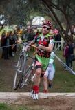 Cyclocross Royaltyfria Foton