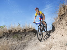 Cyclocross, Royalty-vrije Stock Afbeeldingen