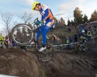 Cyclocross - Adán Craig Fotografía de archivo libre de regalías