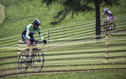 Cyclocross competition Stock Image