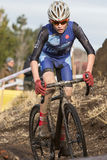 Cyclocross - Junior Racer Lance Haidet Stock Photos