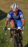 Cyclocross Race Arkivfoton