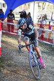 Cyclocross Rennen Lizenzfreie Stockbilder