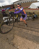 Cyclocross - Serena Bishop Gordon Royalty Free Stock Images