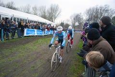 Cyclocross: Sven Nys e Kevin Pauwels Imagens de Stock Royalty Free