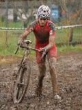 Cyclocross Weltcup 2008-2009 Lizenzfreies Stockbild