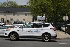 CycloMedia汽车在布鲁克林 库存照片