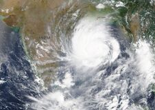 Free Cyclone Amphan Heading Towards India And Bangladesh In The Bay Of Bengal In May 2020 - Elements Of This Image Furnished By NASA Royalty Free Stock Photo - 183487255