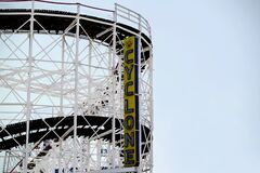 Cyclone Carousel Royalty Free Stock Images