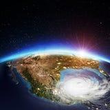 Cyclone des Etats-Unis rendu 3d Photo stock